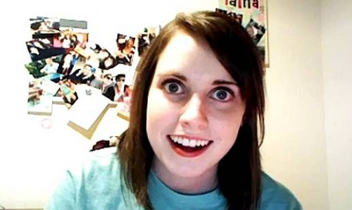 overly attached girlfriend, original meme