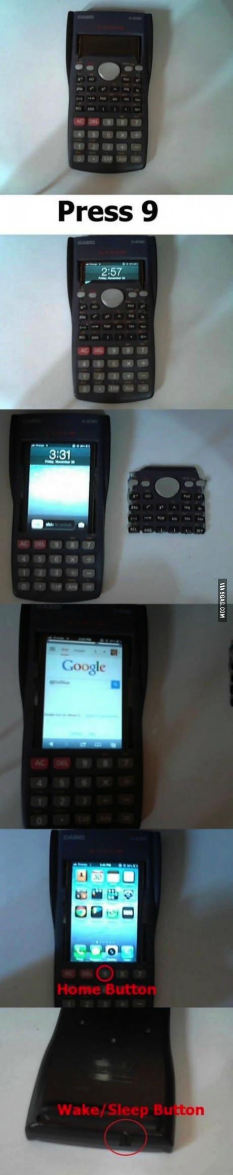 iphone, calculator, case, win, cheat