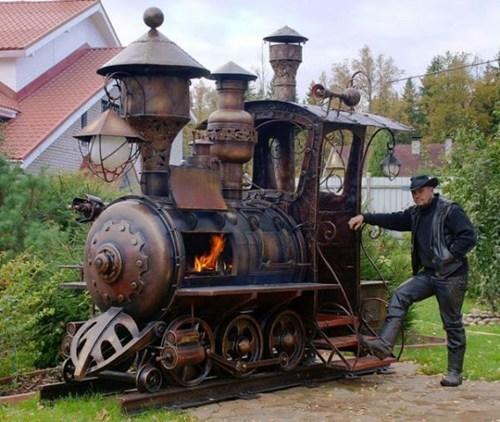 train, fire, stove, win, cowboy