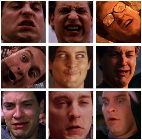 spiderman, facial expressions, fail, acting, bad