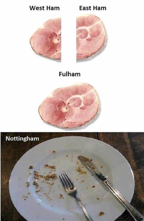 ham, word play, pun