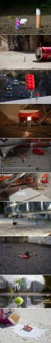 miniature, world, art, wtf