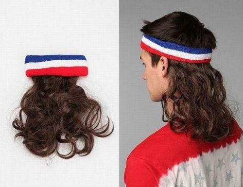 mullet, hair, bandana, worst