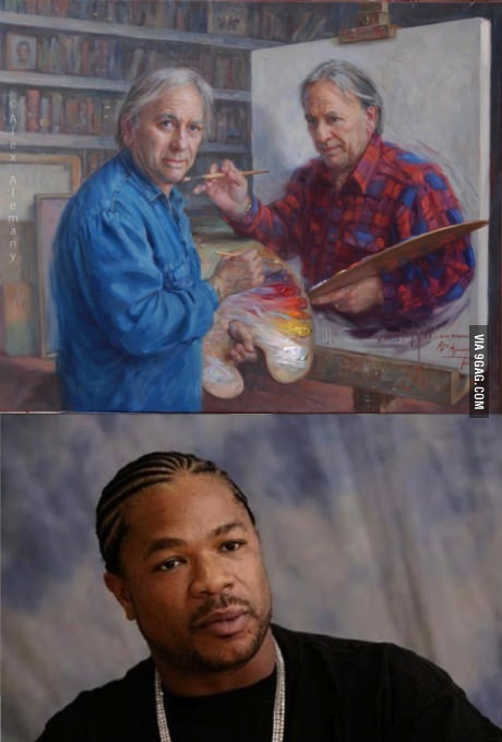 painting, painter, xzibit