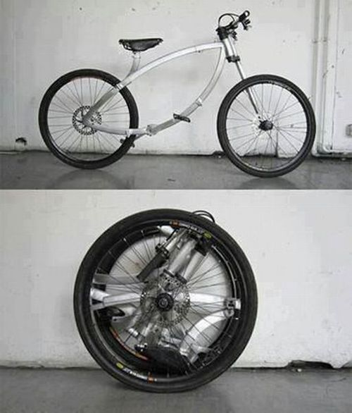 bicycle, portable, fold, transformer, win