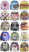 sweatshirt, food, products, lol