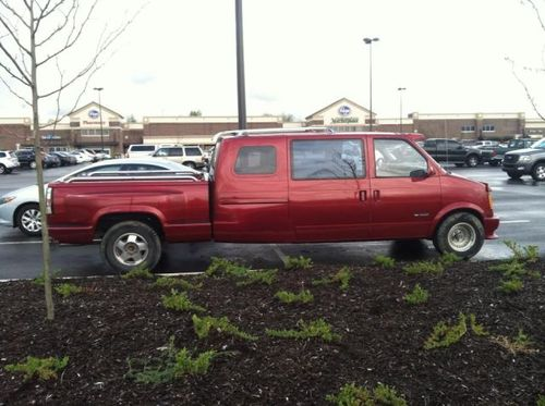 pickup truck, van, wtf, mashup