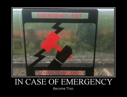 sign, emergency, thor, motivation, hammer, electricity