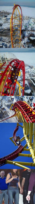 roller coaster, scariest, theme park