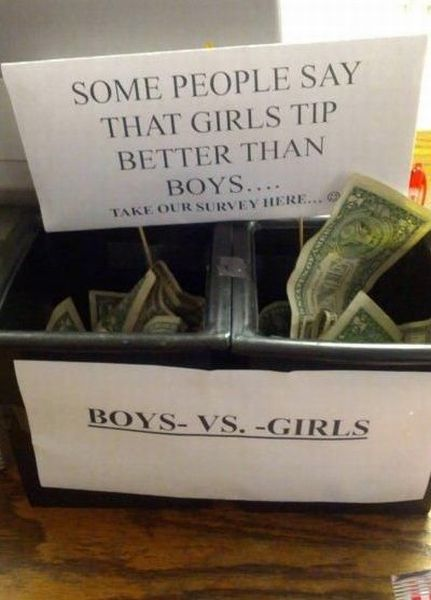 tips, jar, idea, versus, boys, girls