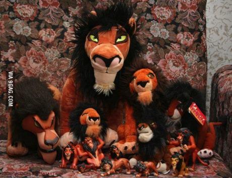 lion king, scar, stuffed animals