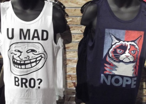 tank top, meme, shirt