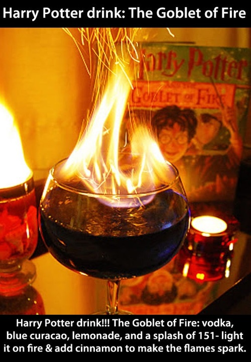 harry potter, globet of fire, drink, dyk, how to, recipe, alcohol
