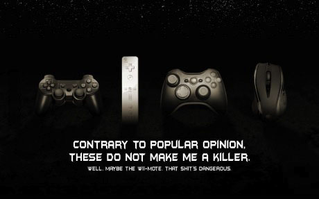 video game, remote, mouse, console, violence, killer