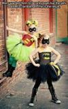 costume, little girls, batman, princesses, story
