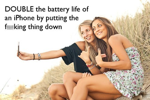smart phone, battery, double
