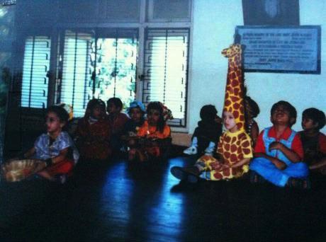 costume, giraffe, class