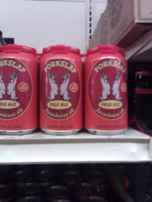 worst, beer, brand, name, pork slap