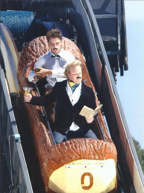 log flume, like a sir, theme park, ride, lol
