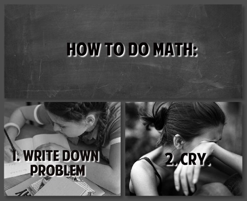 math, problem, cry, how to