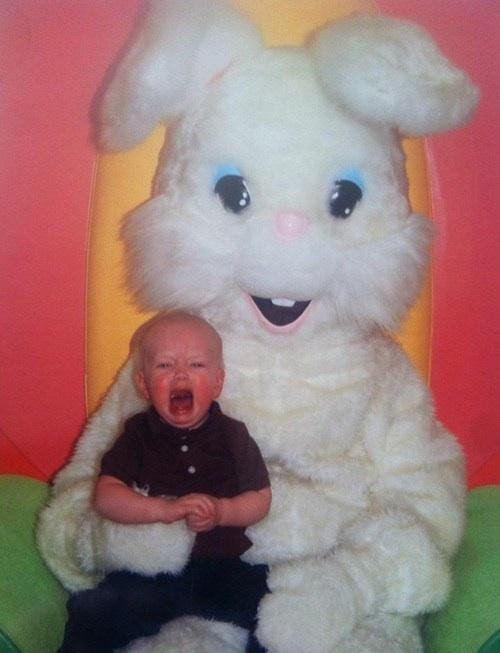 easter, bunny, kid