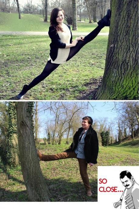 splits, flexible, close enough