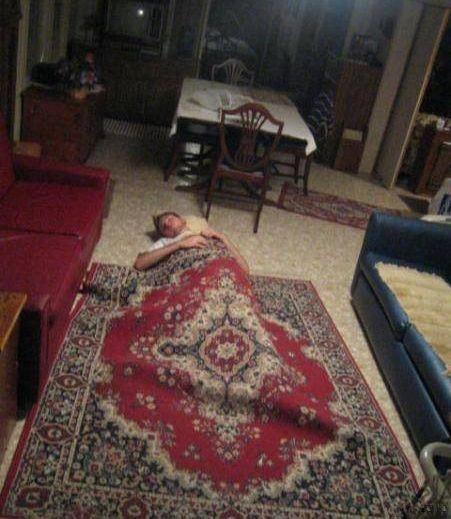 rug, sleep, lol, friend