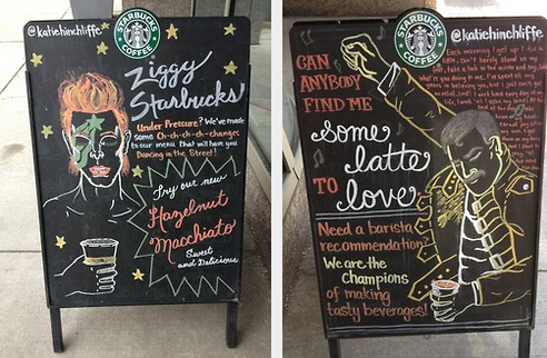 starbucks, ad, chalkboard, meme, win