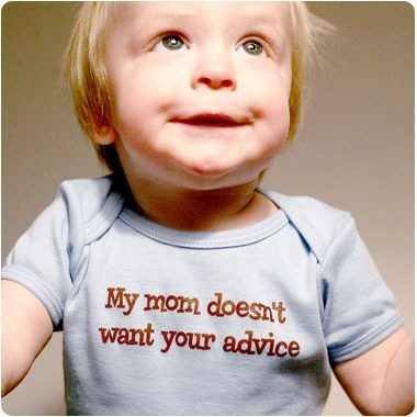 my mom doesn't want your advice, children's shirt