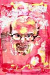 artist, drugs, self portrait