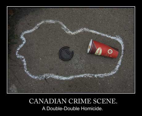 tim hortons, double double, homicide, canada