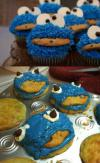 cookie monster, muffins, attempt, fail