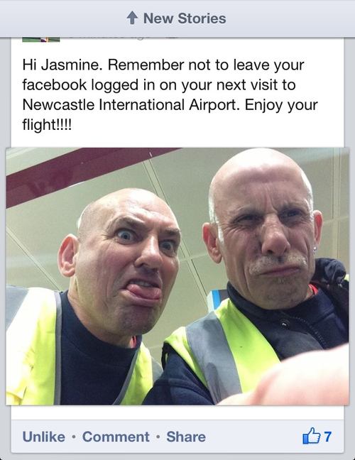 facebook, airport, workers, lol