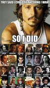 actor, johnny depp, meme
