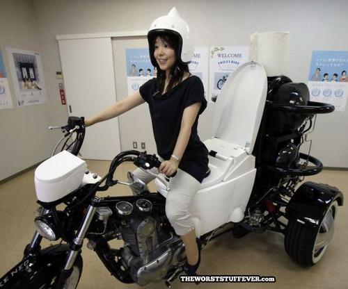 motorcycle, toilet, wtf, asian, women