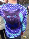 shirt, cat, trippy