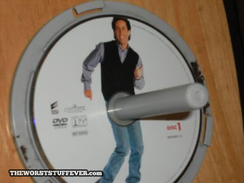 jerry seinfeld, spindle, cd, dvd, perspective, suggestive