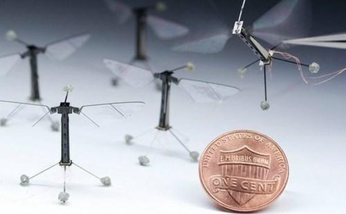 small, flying robot, penny, tiny