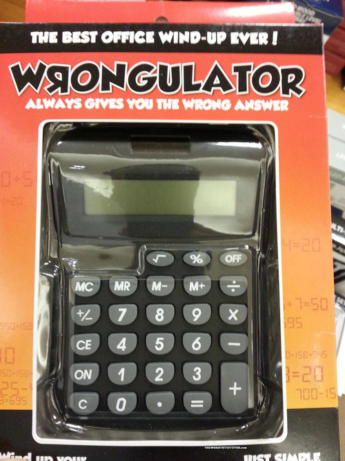 calculator, product, wtf, wrongculator