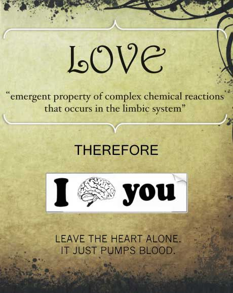 love, brain, explanation