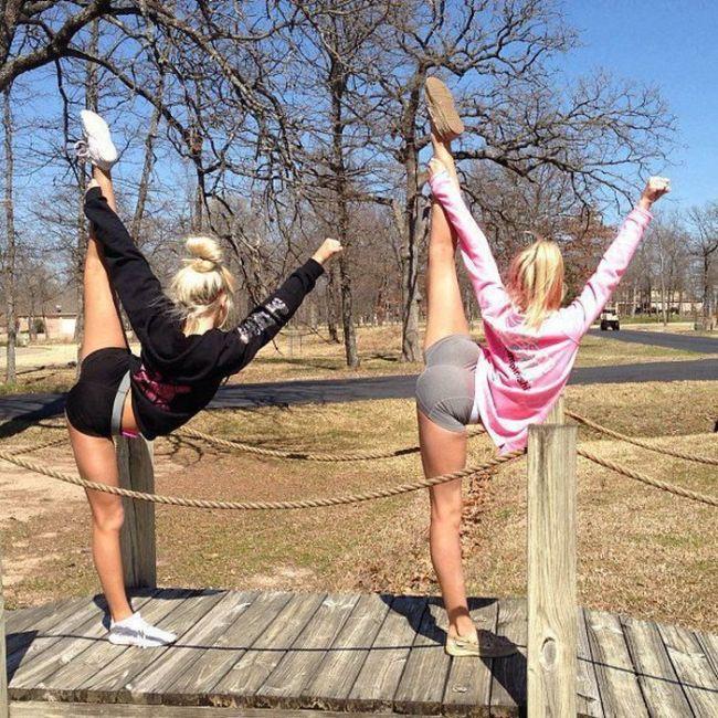 flexible, work out, women