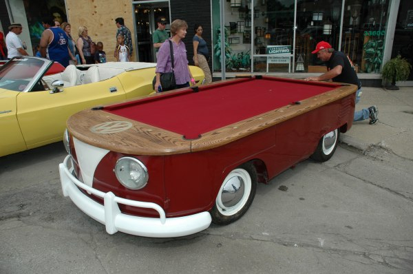 Mobile Pool Table JustPost Virtually Entertaining - Mobile pool table