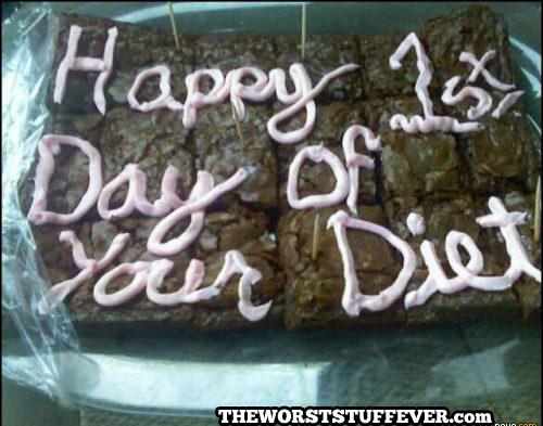 diet, brownies, worst