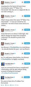 donald trump, troll, jon stewart, twitter