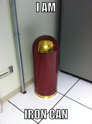 iron can, ironman, trash, meme