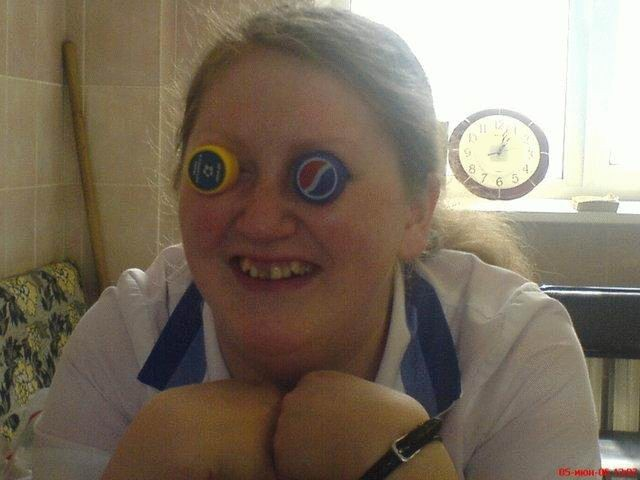 bottle caps, eyes, ugly, wtf