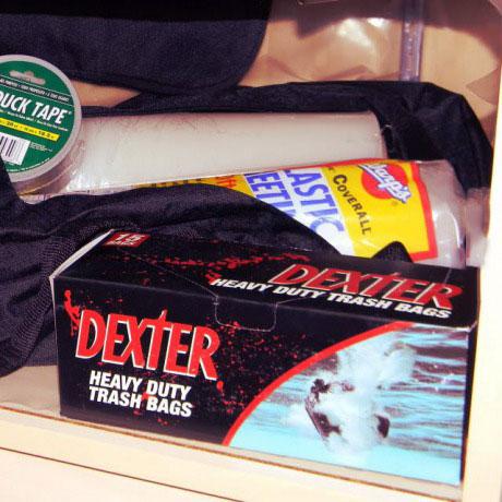 dexter heavy duty garbage bags, branding, merchandise, product