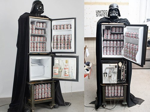 darth vader, refrigerator, star wards, product, win
