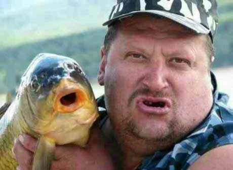 totallylookslike, face, fish, mouth