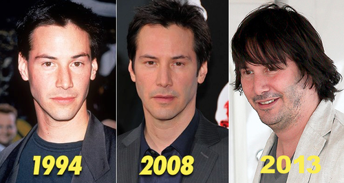 keanu reeves, progression